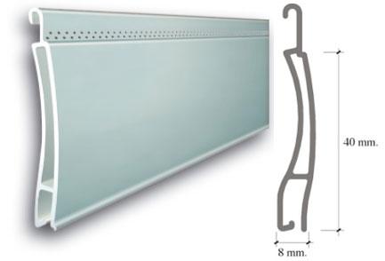 Lama Aluminio Extruida Microperforada