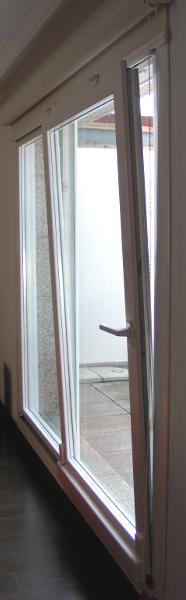 Puerta oscilo-Paralela de apertura a izquierda