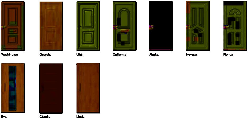 Paneles de Puerta Serie ECO